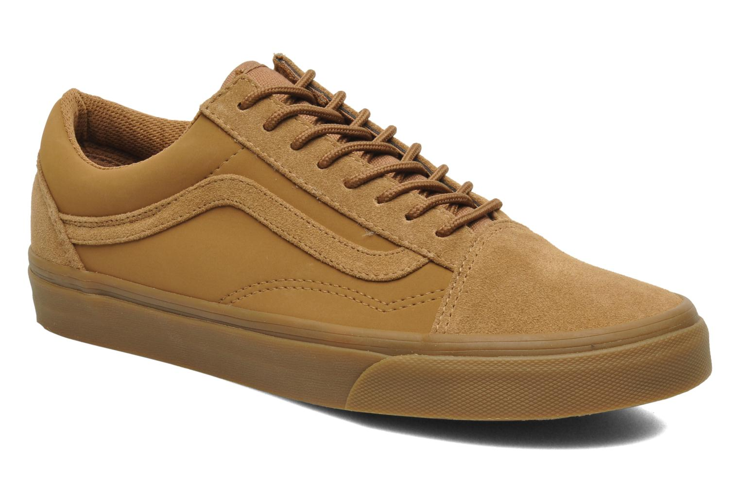 vans old skool trainers in beige at 197787. Black Bedroom Furniture Sets. Home Design Ideas
