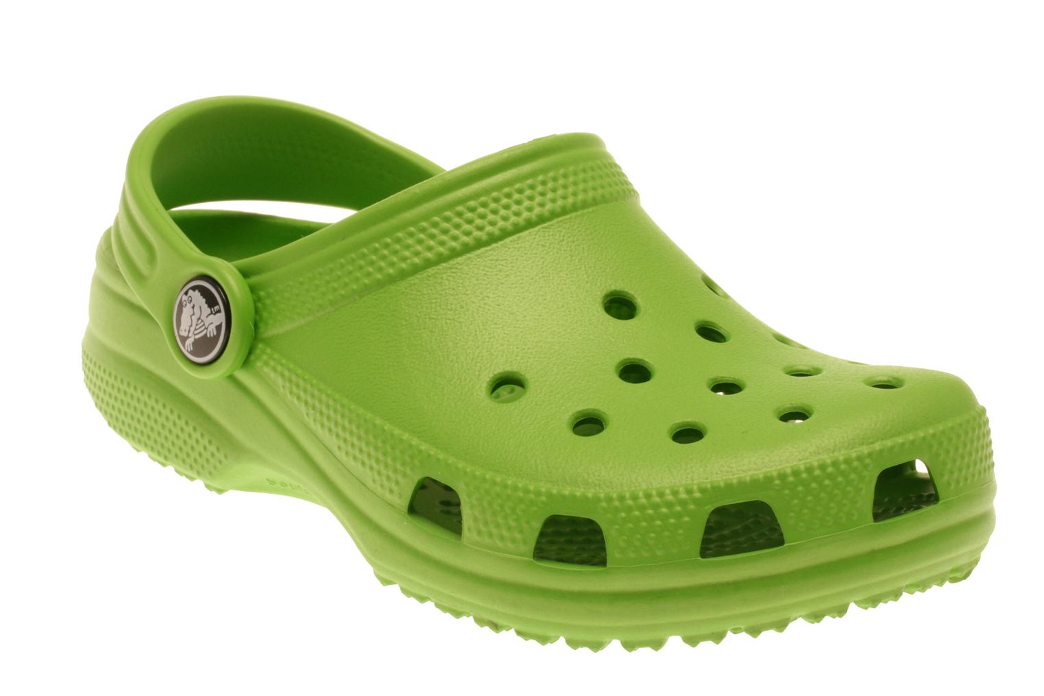 Crocs Kids Cayman Sandals In Green At Sarenza Co Uk 14756