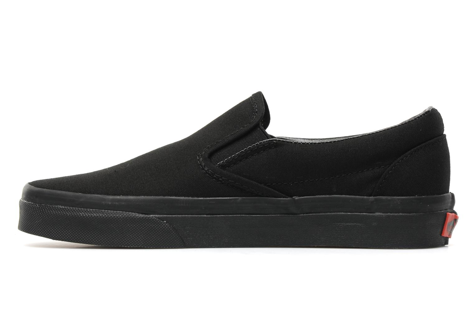vans classic slip on w noir baskets chez sarenza 140514. Black Bedroom Furniture Sets. Home Design Ideas