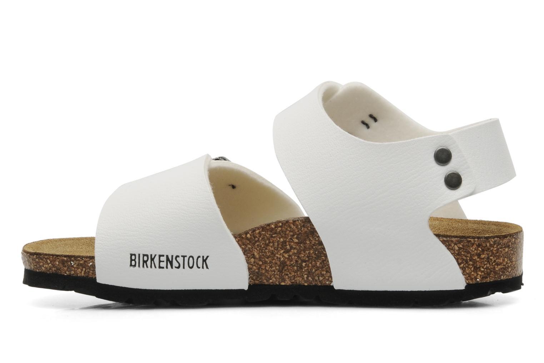Birkenstock new york flor e sandals in white at for Birkenstock new york