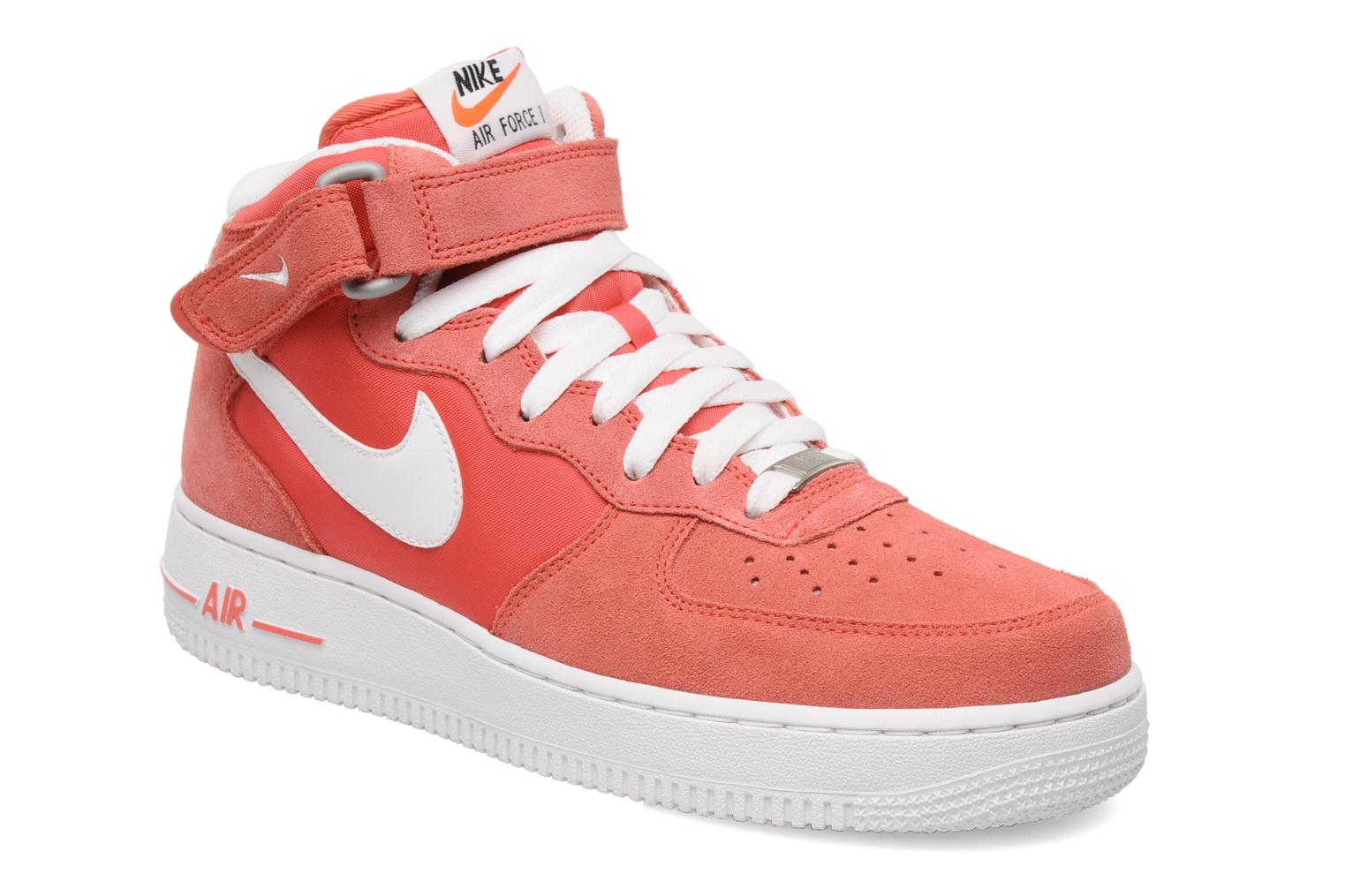 nike air force 1 mid rose baskets chez sarenza 154167. Black Bedroom Furniture Sets. Home Design Ideas