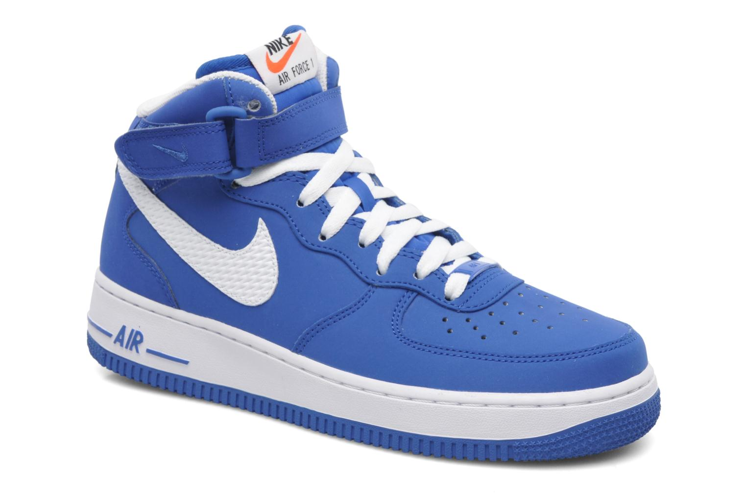 nike air force 1 mid trainers in blue at 199011. Black Bedroom Furniture Sets. Home Design Ideas
