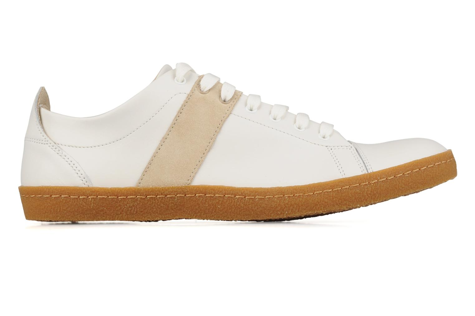 bensimon tennis harrys cuir h trainers in white at sarenza. Black Bedroom Furniture Sets. Home Design Ideas