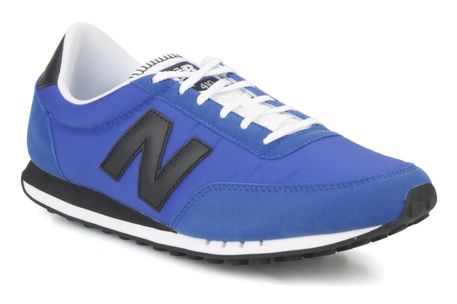 new balance u410 trainers in blue at 69932. Black Bedroom Furniture Sets. Home Design Ideas
