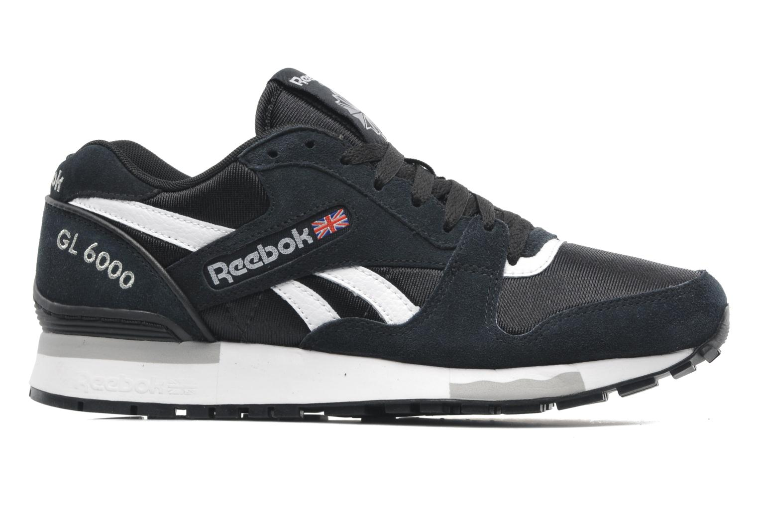 reebok gl 6000 trainers in black at 194247. Black Bedroom Furniture Sets. Home Design Ideas