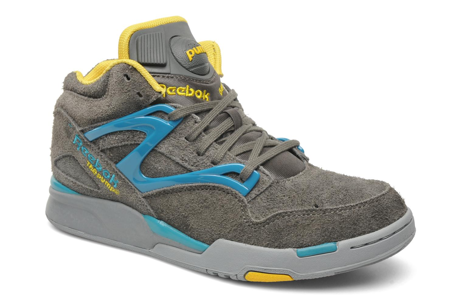 reebok pump omni lite trainers in grey at 150820. Black Bedroom Furniture Sets. Home Design Ideas