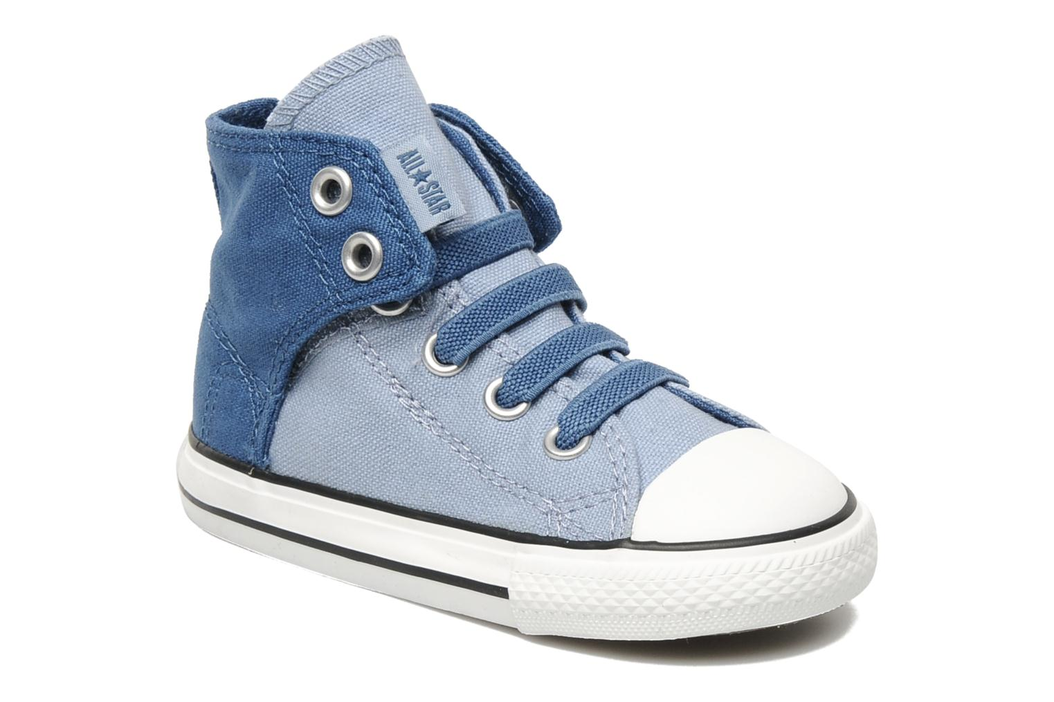converse chuck taylor all star easy slip hi k bleu baskets chez sarenza 123960. Black Bedroom Furniture Sets. Home Design Ideas