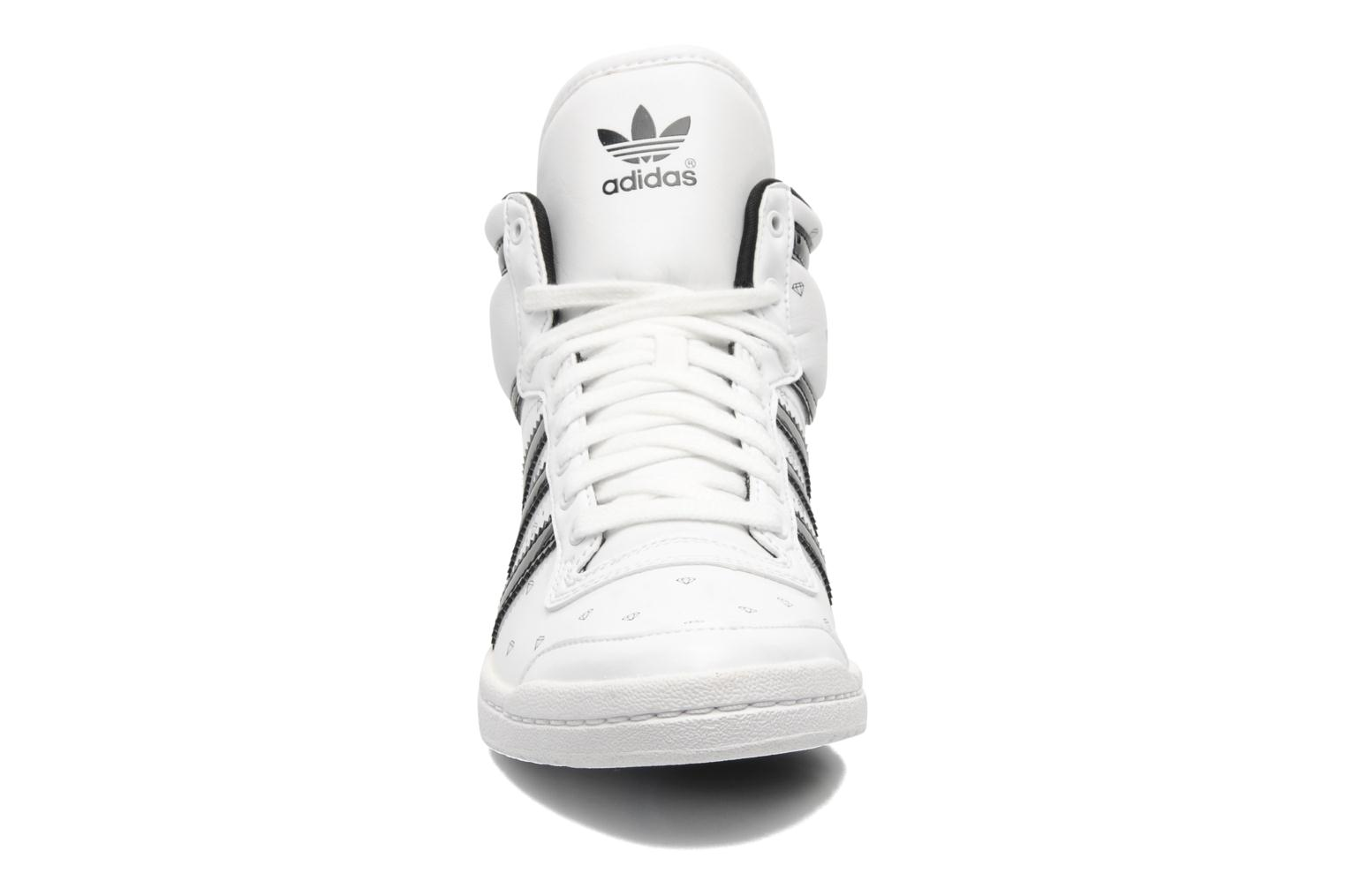 adidas originals top ten hi sleek w trainers in white at. Black Bedroom Furniture Sets. Home Design Ideas