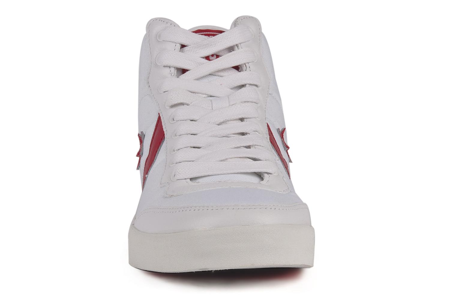 Converse Fastbreak 2 mid nyl m Trainers in White at ...