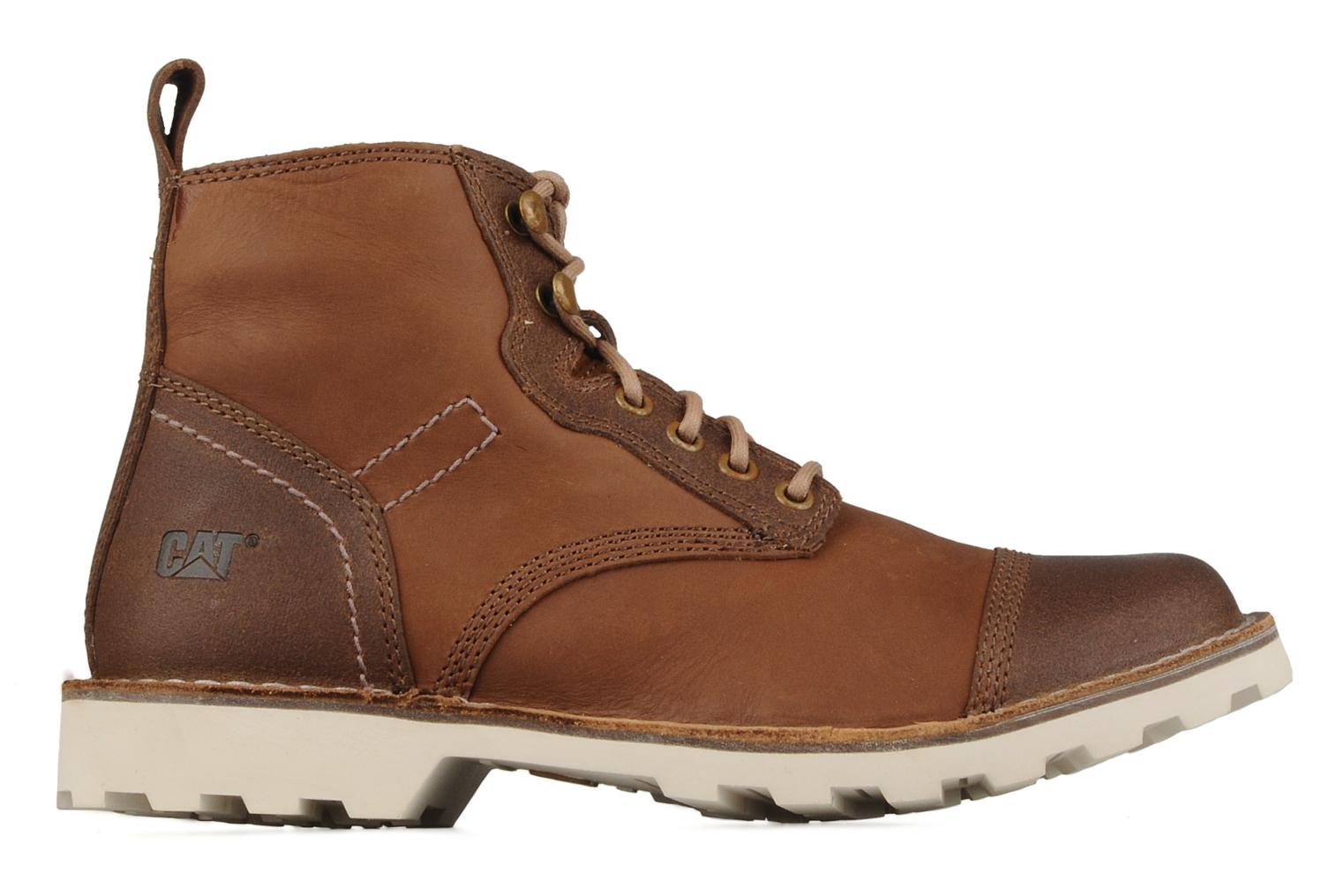 Caterpillar Fulcrum mid Ankle boots in Brown at Sarenza.co ...