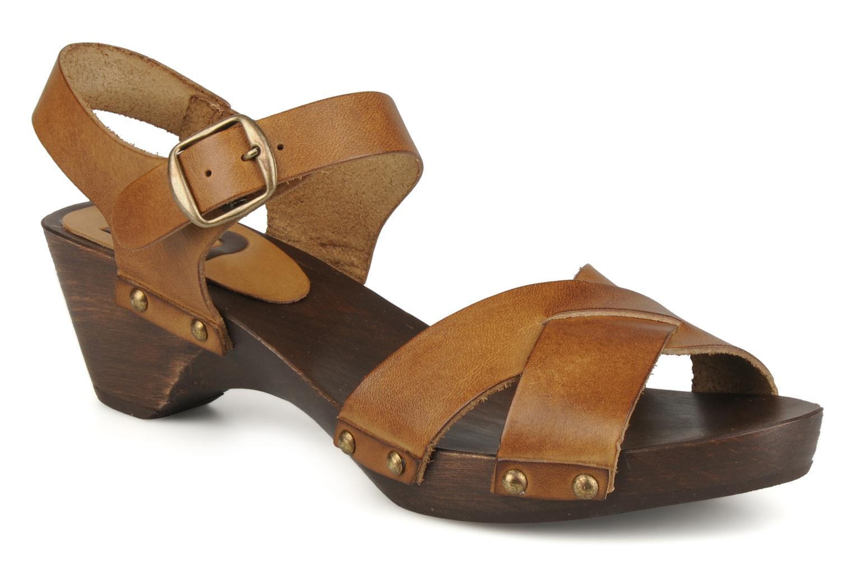 bensimon sandales exclu marron sandales et nu pieds. Black Bedroom Furniture Sets. Home Design Ideas