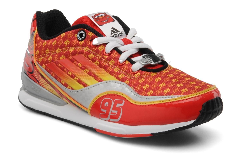 adidas performance disney cars 2 c rouge chaussures de sport chez sarenza 107039. Black Bedroom Furniture Sets. Home Design Ideas