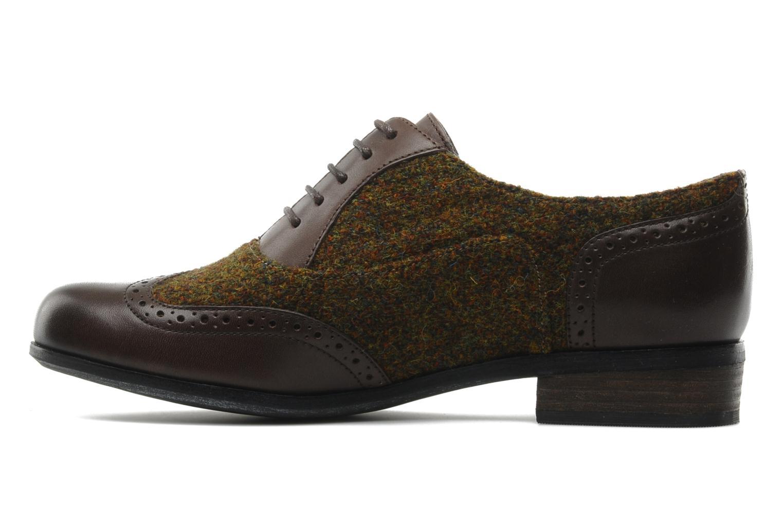 Size  Clarks Hamble Oak Tweed And Leather Shoe
