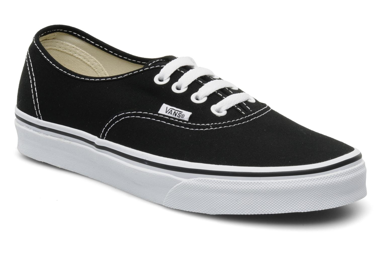Vans Authentic w (Noir) - Baskets chez Sarenza (109821)