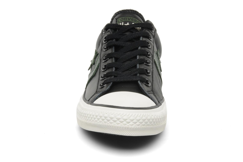 converse star player ev leather ox m noir baskets chez sarenza 103646. Black Bedroom Furniture Sets. Home Design Ideas