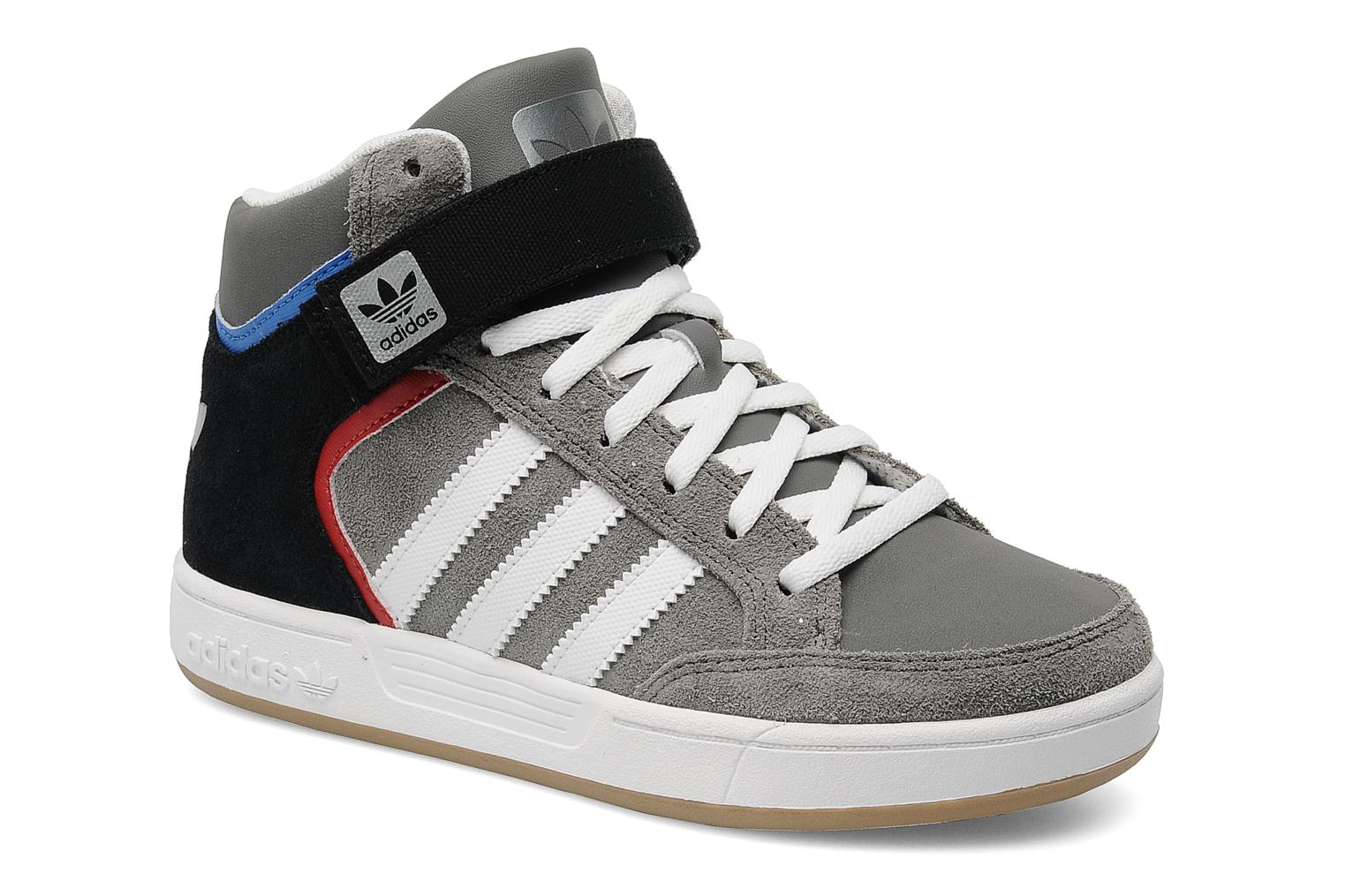 adidas originals varial mid j trainers in grey at sarenza. Black Bedroom Furniture Sets. Home Design Ideas