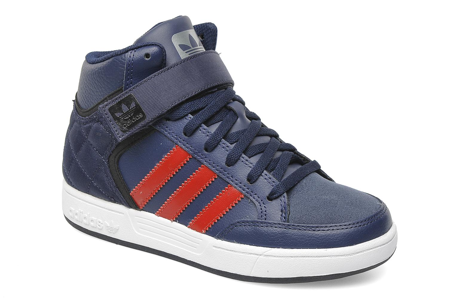 adidas originals varial mid j trainers in blue at sarenza. Black Bedroom Furniture Sets. Home Design Ideas