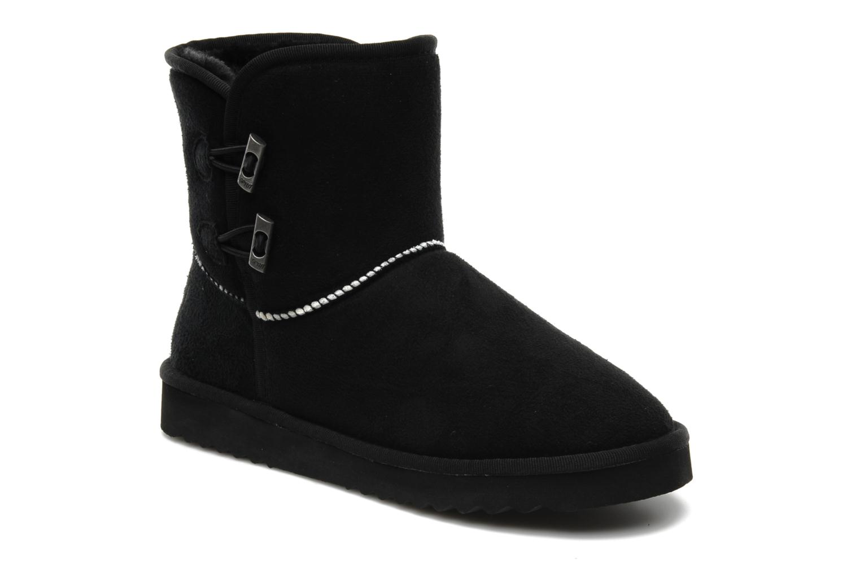 esprit uma toggles bootie ankle boots in black at 110941. Black Bedroom Furniture Sets. Home Design Ideas