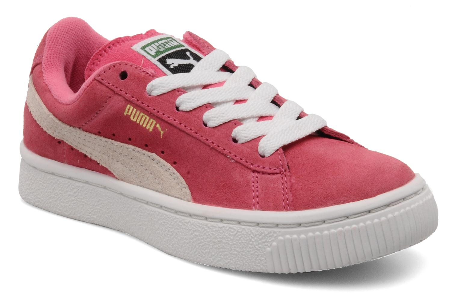 puma suede classic kids trainers in pink at. Black Bedroom Furniture Sets. Home Design Ideas