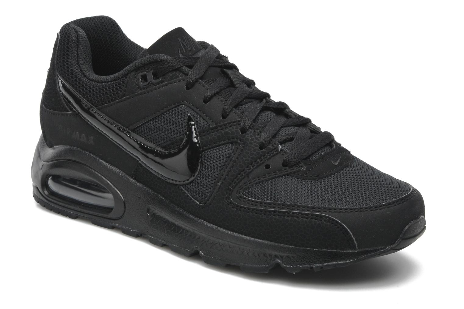 nike air max command trainers in black at. Black Bedroom Furniture Sets. Home Design Ideas