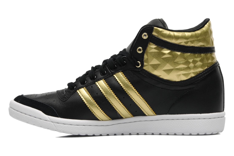 adidas originals top ten hi sleek heel w trainers in black. Black Bedroom Furniture Sets. Home Design Ideas