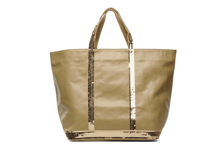 bolsos de mano vanessa bruno cabas cuir paillettes l beige 118896. Black Bedroom Furniture Sets. Home Design Ideas