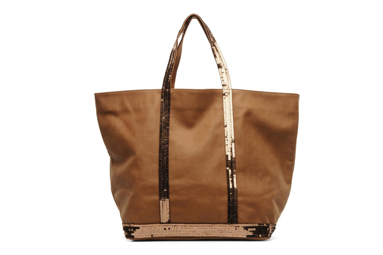 vanessa bruno cabas cuir longbeach paillettes l handbags in brown at 168173. Black Bedroom Furniture Sets. Home Design Ideas