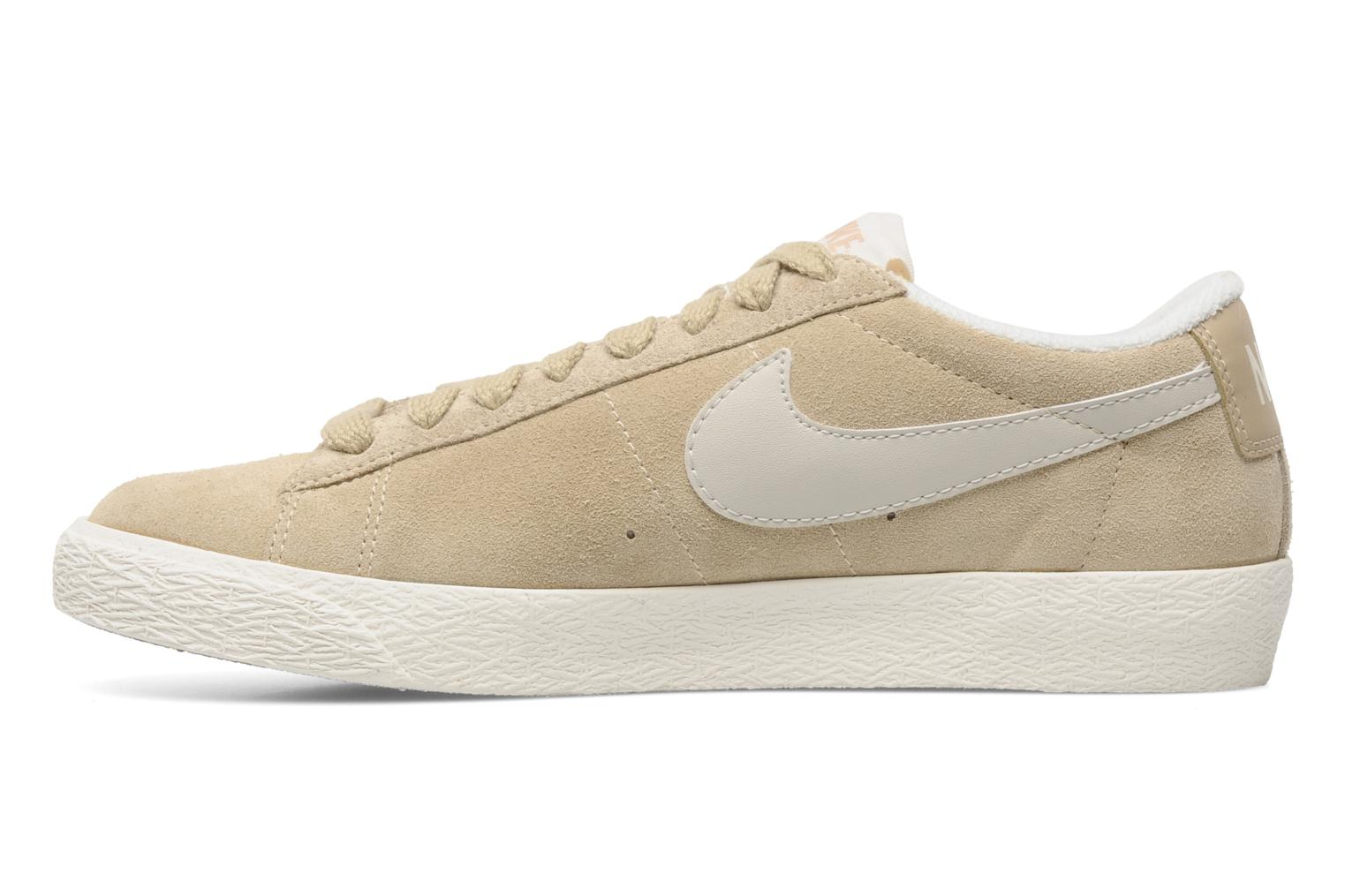 nike wmns blazer low suede vintage beige baskets chez sarenza 158347. Black Bedroom Furniture Sets. Home Design Ideas