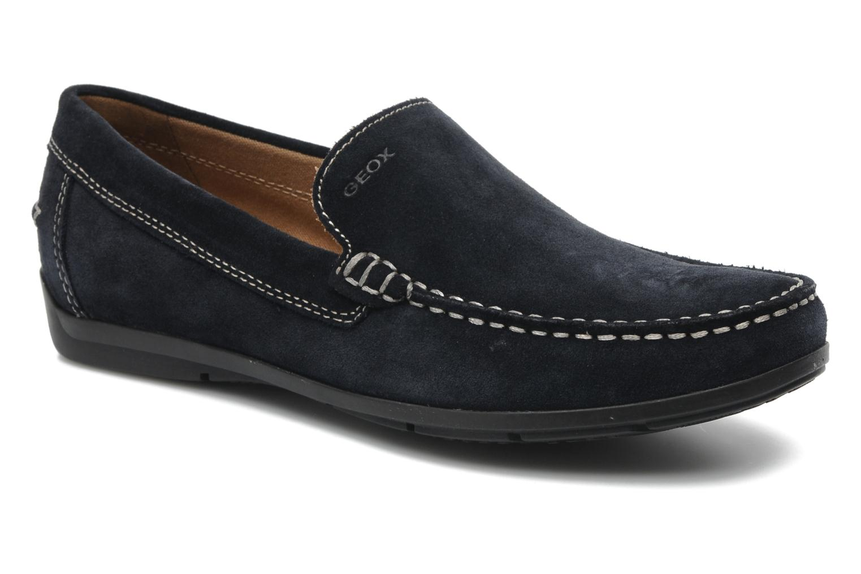 geox u simon a u32q3a loafers in blue at. Black Bedroom Furniture Sets. Home Design Ideas