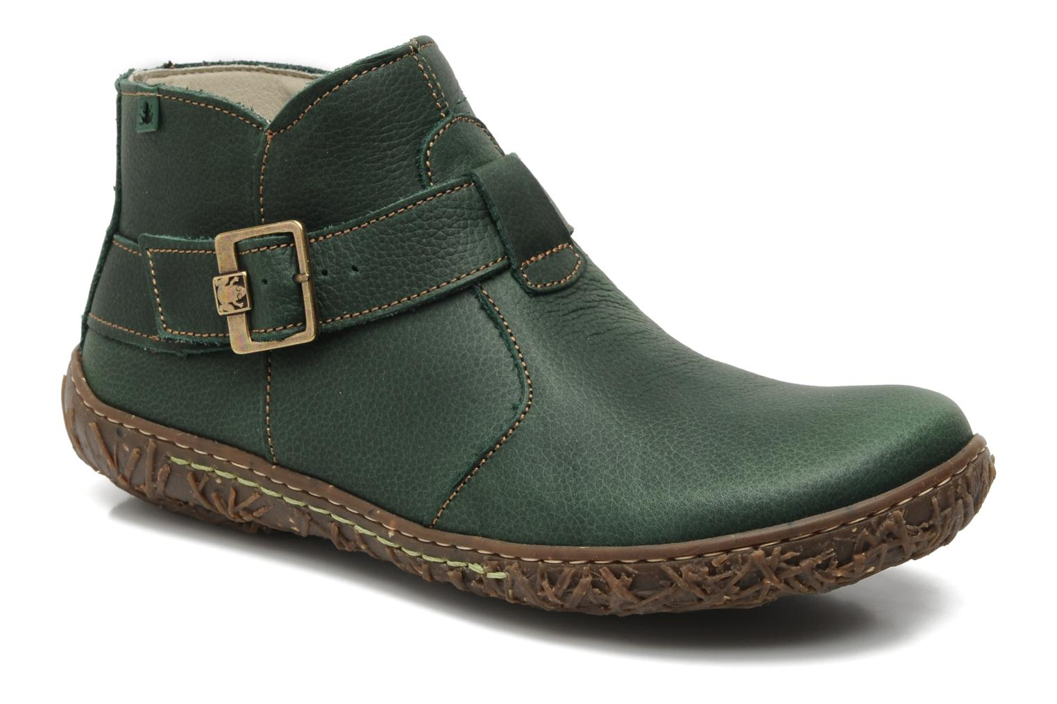 el naturalista nido ella n734 ankle boots in green at 139735. Black Bedroom Furniture Sets. Home Design Ideas