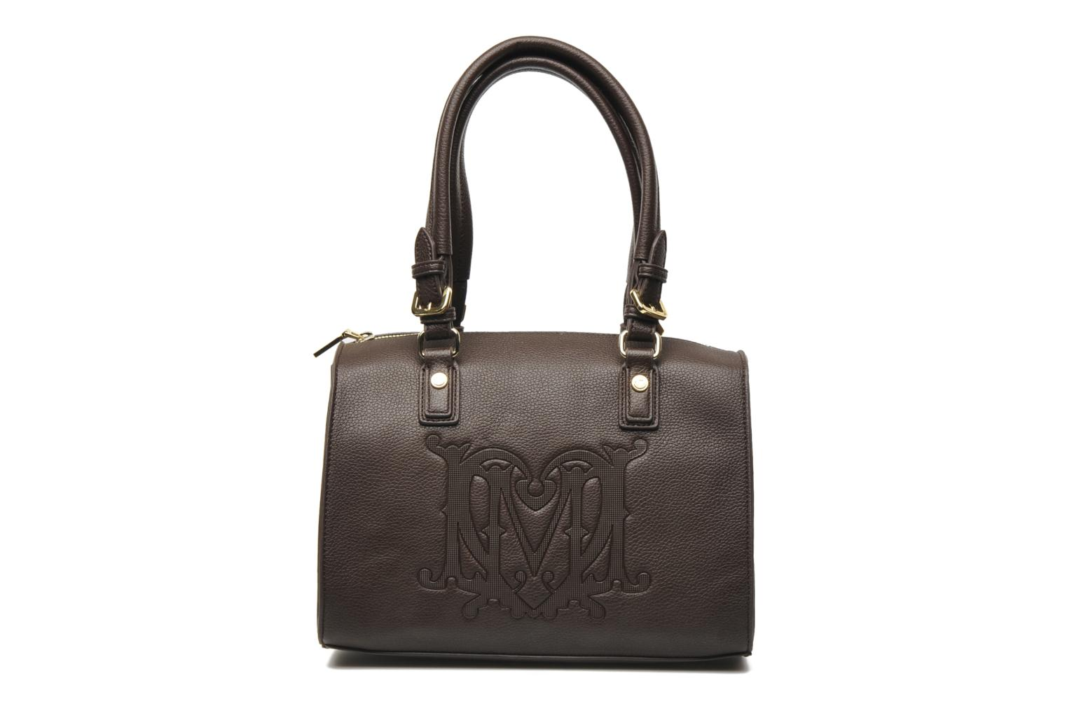 love moschino signature bowling handbags in brown at 140703. Black Bedroom Furniture Sets. Home Design Ideas