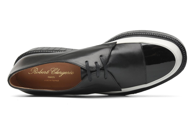 robert clergerie pexter noir chaussures lacets chez sarenza 142165. Black Bedroom Furniture Sets. Home Design Ideas