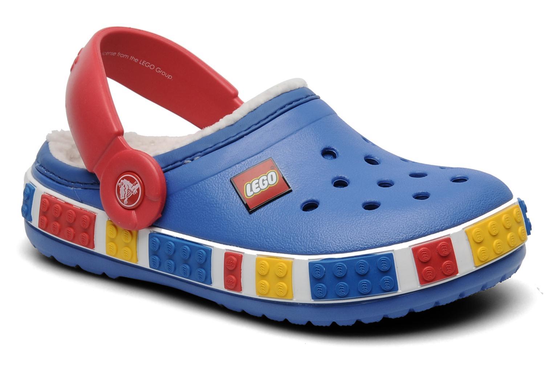 Crocs Crocband Mammoth Lego Clog Kids Sandals In Blue At