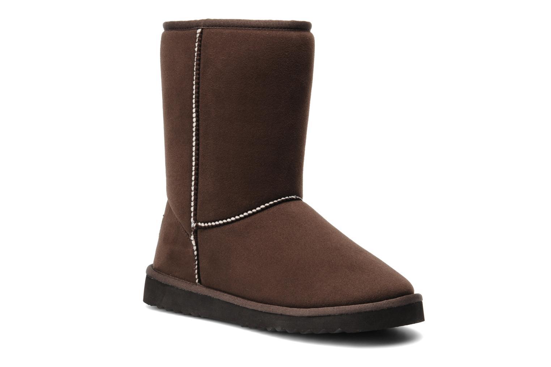 esprit uma classic marron bottines et boots chez sarenza 145649. Black Bedroom Furniture Sets. Home Design Ideas