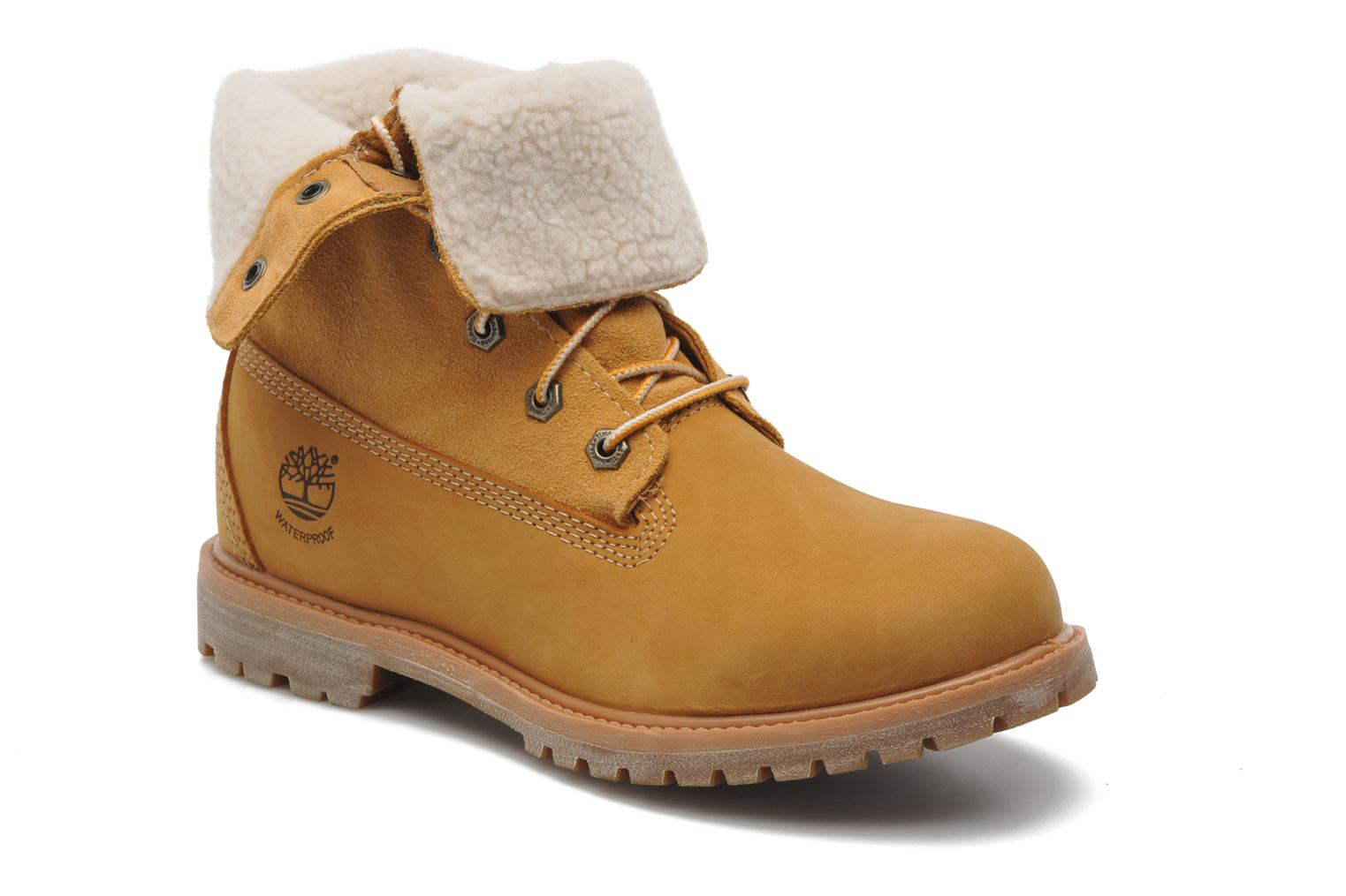 Timberland Authentics Teddy Fleece Wp Fold Down Ankle