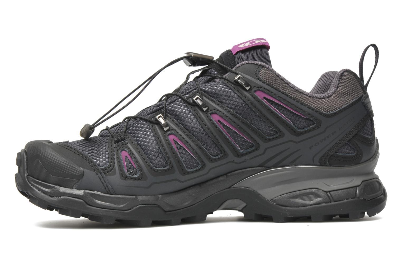salomon x ultra gtx w gris chaussures de sport chez sarenza 150660. Black Bedroom Furniture Sets. Home Design Ideas