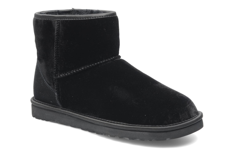 ugg mini black velvet