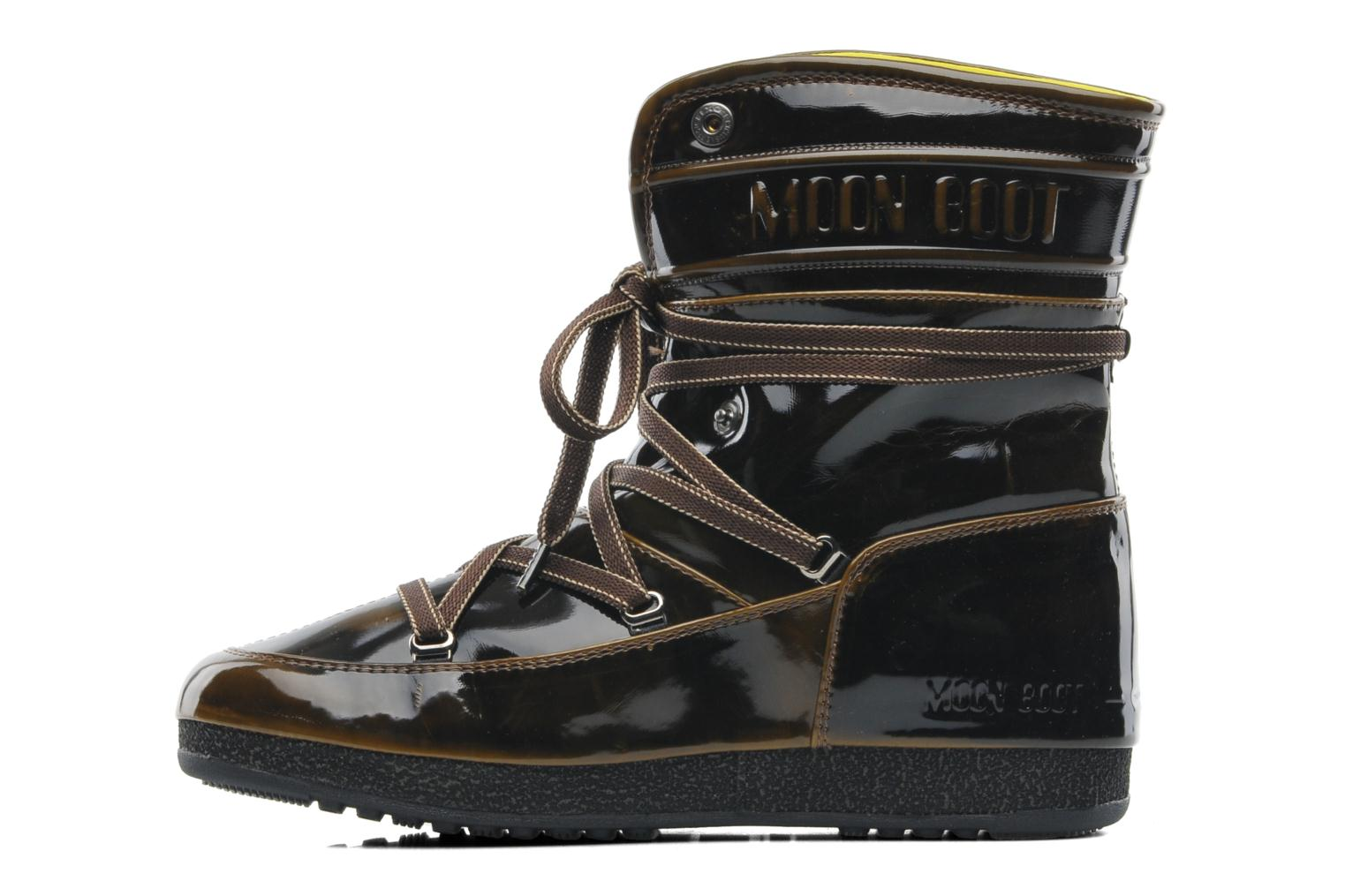 moon boot 3rd avenue ankle boots in brown at sarenza co uk