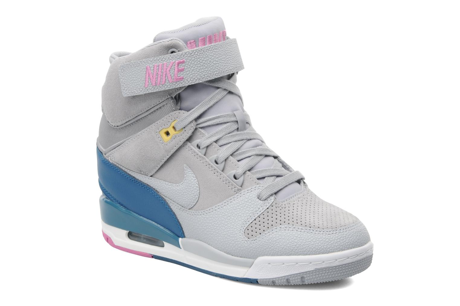 nike wmns nike air revolution sky hi trainers in grey at. Black Bedroom Furniture Sets. Home Design Ideas