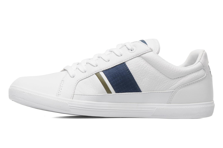 Lacoste Handväskor : Lacoste europa fas vit sneakers p? sarenza