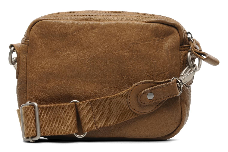 bensimon mini bag cuir marron sacs main chez sarenza. Black Bedroom Furniture Sets. Home Design Ideas