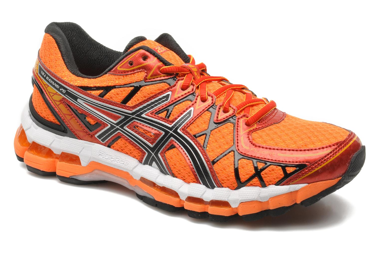 asics gel kayano 20 sport shoes in orange at. Black Bedroom Furniture Sets. Home Design Ideas