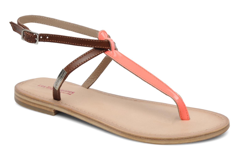 les trop ziennes par m belarbi nesta sandals in pink at 177459. Black Bedroom Furniture Sets. Home Design Ideas