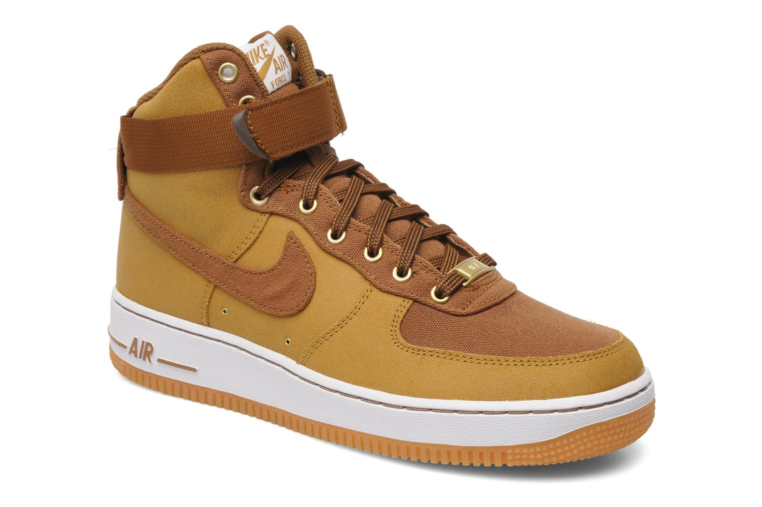 nike air force 1 high 39 07 ww trainers in brown at 182084. Black Bedroom Furniture Sets. Home Design Ideas