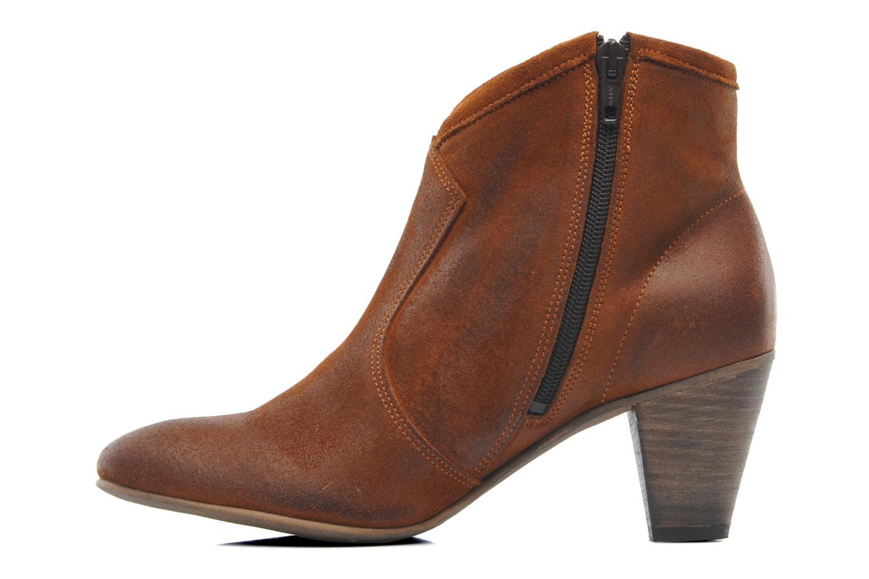 shoe the bear western marron bottines et boots chez sarenza 188041. Black Bedroom Furniture Sets. Home Design Ideas