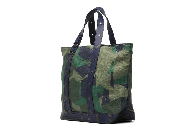 vanessa bruno cabas lin impr camouflage vert sacs. Black Bedroom Furniture Sets. Home Design Ideas
