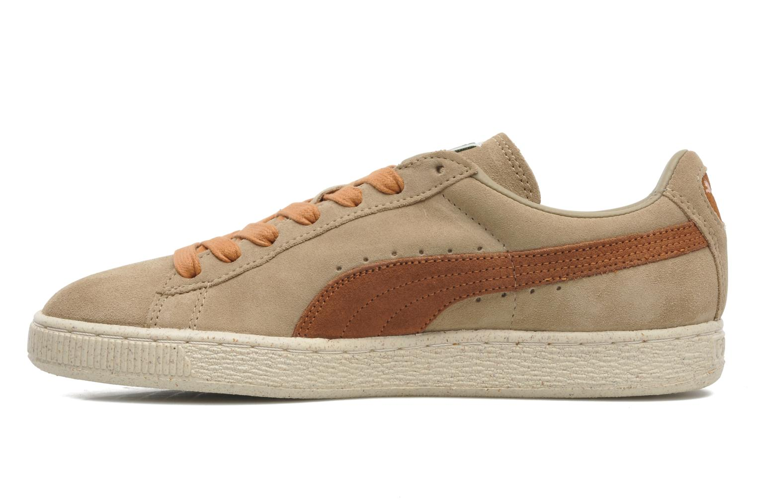 puma suede classic natural calm trainers in beige at. Black Bedroom Furniture Sets. Home Design Ideas
