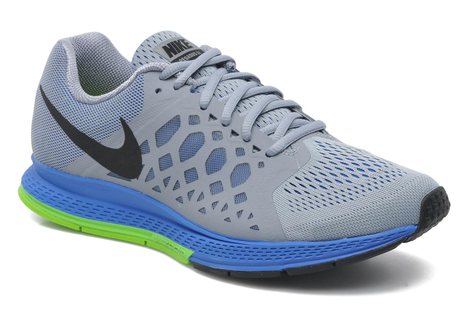 nike nike zoom pegasus 31 sport shoes in grey at sarenza. Black Bedroom Furniture Sets. Home Design Ideas