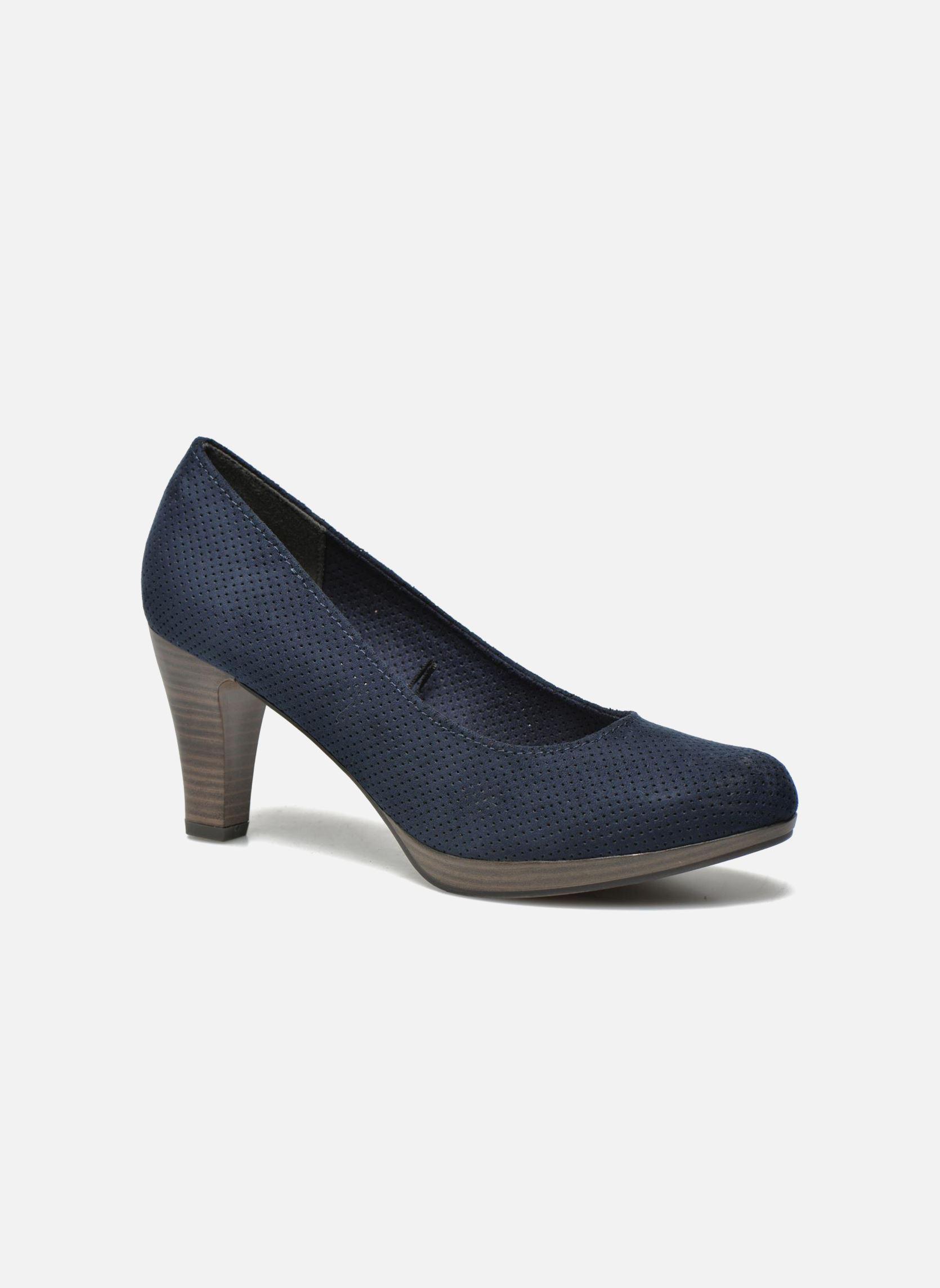 marco tozzi lolly bleu escarpins chez sarenza 243284. Black Bedroom Furniture Sets. Home Design Ideas