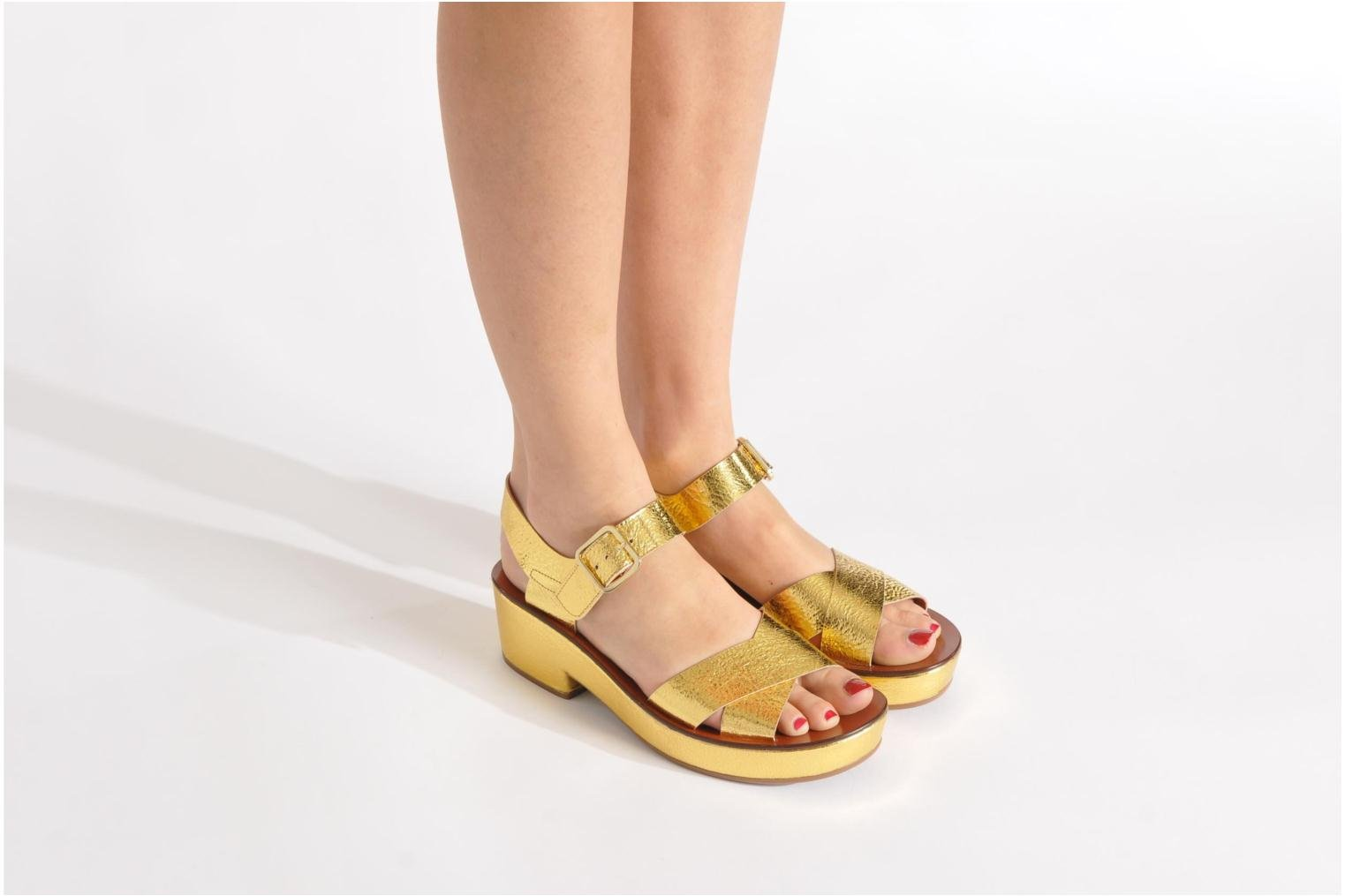 Chie Mihara Ocra Sandals In Bronze And Gold At Sarenza Co